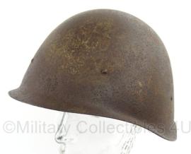 WO2 Russische SSH40 helm zonder liner - maat 1 - origineel 1944