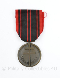 Medaille Patria NON Immemor Franse verzet onderscheiding 1940 - 8 x 4 cm - origineel