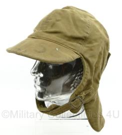Wo2 USN US Navy winter hat - maat 7,5 = maat 60 - origineel