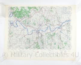 Wo2 Britse War Office Stafkaart van Zutphen uit 1945 - Schaal 1:50000 -  60 x 75 cm - origineel