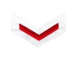 KM Nederlandse Marine schouder rang Tropentenue ENKEL - Matroos der 2e klasse - origineel
