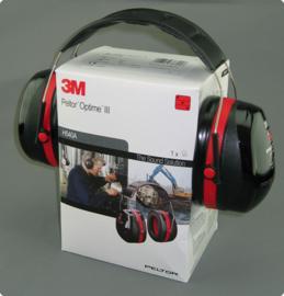 Oorkap 35 dB 3M Peltor OPTIME III H540A 1 stuks gehoorbescherming - nieuw in doos