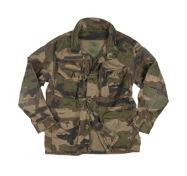 Franse leger CCE camo T4 Smock jas - meerdere maten - gedragen - origineel