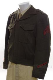 USMC Marine Corps Ike jacket Sergeant - maat Large - origineel