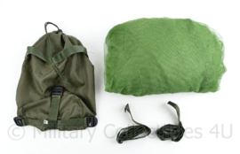 Muggenklamboe voor boven een tweepersoons bed of veldveld - in draagtas ! - maat M -  rechthoekig - ca. 175 x 120 x 145 cm - origineel