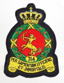 Koninklijke Luchtmacht embleem 314th Squadron - origineel