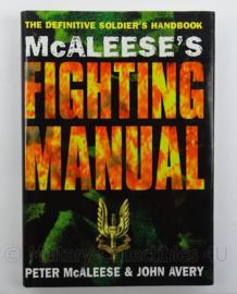 Boek Mc Aleese's Fighting Manual - afmeting 25,5 x 18 cm - origineel