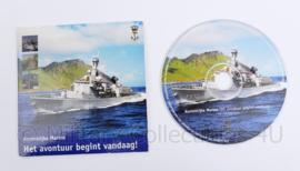 Koninklijke Marine CD-rom - Het avontuur begint vandaag! - 13 x 12 cm -  origineel