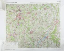 Kaart Eindhoven / Arnhem Battlefield Tour - 1  : 100.000 - kaart van de situatie rond de slag om Arnhem - 63 x 76 cm - replica
