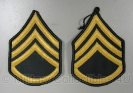 US Army - Staff Sergeant rank patches - origineel vietnam oorlog VERMIST