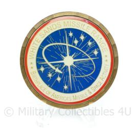 Zeldzame originele US Army coin - presented for excellence White Sands Missile Range - diameter 5 cm - origineel