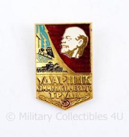 Russische USSR speld met Lenin - 3,5 x 2 cm  - origineel