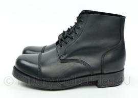 British service shoes zwart met benageling modern, lijkt op wo2 brits model - nieuw - size 11L - origineel