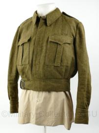 MVO zeldzaam 1e model jas in grote maat - maat 52 ¼ - origineel
