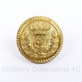 Geneeskundige dienst of Britse leger Medische DT knoop goudkleurig 23 MM - origineel
