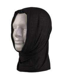 Multifunctioneel hoofddeksel - muts, balaclava, sjaal, hoofdband, etc. - ZWART
