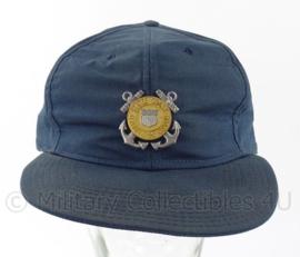 US Coast Guard baseball cap - zeldzaam metalen insigne  - maat 7 1/4 - origineel