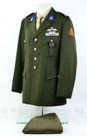 KL DT  uniform  1993 Cavalerie 13e gemechaniseerde brigade met veel onderscheidingen - Maat 54 (= Large) - Origineel