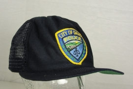 City of Davis Police Californie Baseball cap - Art. 519 - origineel