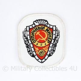 Russische leger onbekend arm embleem - 8 x 7 cm - origineel