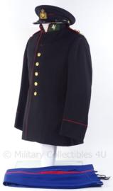 """KL Koninklijke Landmacht gala uniform set Limburgse Jagers jasje, broek en pet - rang """"Luitenant-Kolonel - 1957 - maat 48 - origineel"""