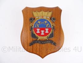 Wandbord Hr Ms Abcoude - Koninklijke Marine - Origineel