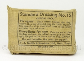 Standard dressing No. 15 Jan/ June 1944 - origineel WO2 Brits