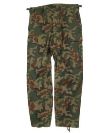 Tactical trouser BDU Polish rmy style  - Poolse camo
