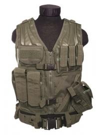 USMC vest met koppel - groen