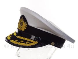 Nederlandse KM Koninklijke Marine Hoogste officiers, Generaals & Admiraals pet - maat  59 of 60 (replica)