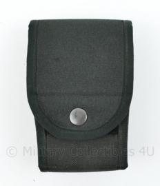 Kmar Politie en Security MOLLE opbouwtas handboei zwart - merk SPE - 13,5 x 9 x 5 cm - origineel