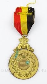 """Belgische """"Jaarmarkt wemmel 1936"""" bronzen medaille - Origineel"""