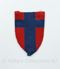 WW2 Canadian 21st Army Group GHQ and LFC troops patch gevouwen -  6,5  x 4 cm - origineel