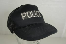 Onbekende POLICE politie cap - Art. 671 - origineel