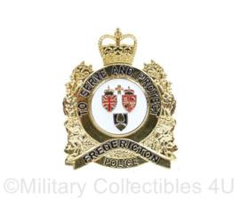Canadese Fredericton Police speld - origineel