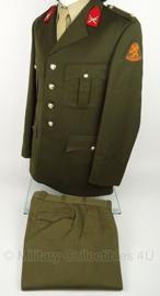 KL Nederlandse Leger DT Regiment Infanterie Chassé kledingset jas EN broek - maat 49 - origineel