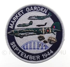"""Market Garden embleem """"september 1944""""- met klittenband - diameter 9 cm"""