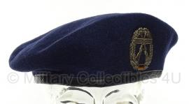 BW baret met insigne Objektschutz der Luftwaffe - maat 58 -  origineel