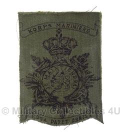 Korps Mariniers borstzakinsigne  - origineel