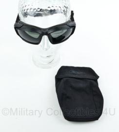 KL Nederlandse leger ESS Eye Pro V12 ballistische bril in opbergtas - zwart glas - gebruikt - origineel
