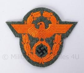 "WO2 Duitse Polizei embleem ""Feldgendarmerie"" - afmeting 9 x 8 cm - replica"