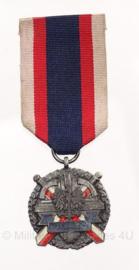 Poolse leger verdienstenmedaille zilver - origineel