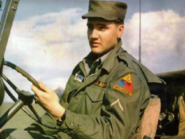Elvis Presley emblemen set - Private First Class - 3rd Armoured Division