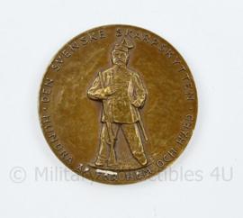 Coin 1960 Stockholms Tidningens 38: E Riksskyttetävling Schietwedstrijd - diameter 4 cm - origineel