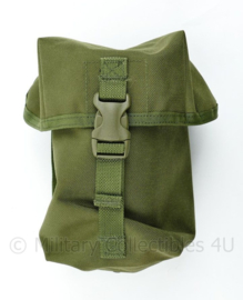 Defensie Korps Mariniers en US Army groene koppeltas MOLLE utility pouch - 22 x 14 x 9,5 cm - nieuw -  origineel