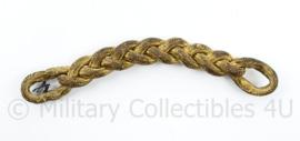 KNIL Nederlands Indië enkele epaulet goudkleurig - 14 x 1,5 cm - origineel