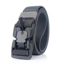 Tactical Belt Wolf Grey - totale lengte 125 cm (in te korten) - nieuw gemaakt