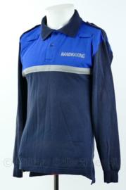 Handhaving shirt met lange mouw - gedragen - maat XXS - origineel