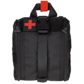 Medische tas geneeskundige dienst BLS IFAK Bag MOLLE - SMALL  - 16 x 18 x 8 cm. - nieuw gemaakt - BLACK