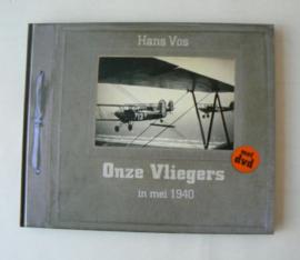 Boek ''Onze Vliegers'' - in mei 1940 - met DVD
